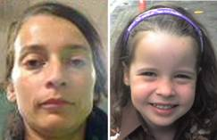 Pearl Rose Gavaghan Da Massa (right), who is now seven, vanished from the U.K. on Dec. 9, 2008, when she was taken away by her mother, Helen Gavaghan (left).